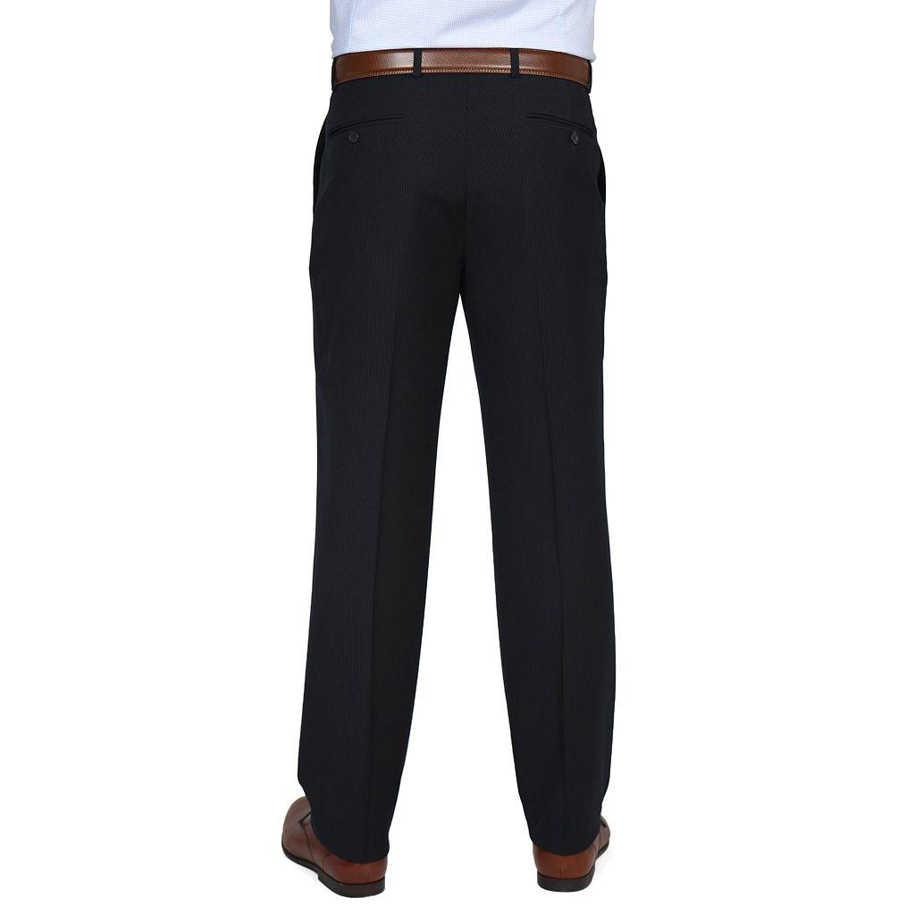 Men's Dockers Classic-Fit Striped Navy Suit Pants