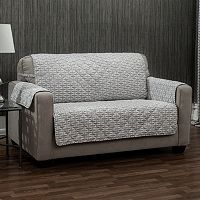 Ron Chereskin Reversible Geometric Basketweave Loveseat Slipcover