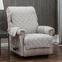 Ron Chereskin Reversible Recliner & Wing Chair Slipcover