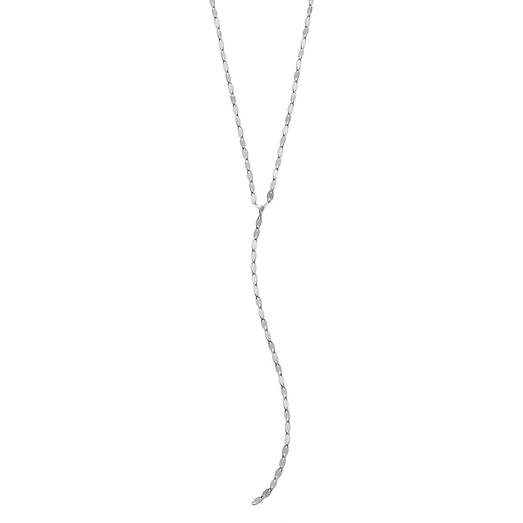 PRIMROSE Sterling Silver Y Necklace