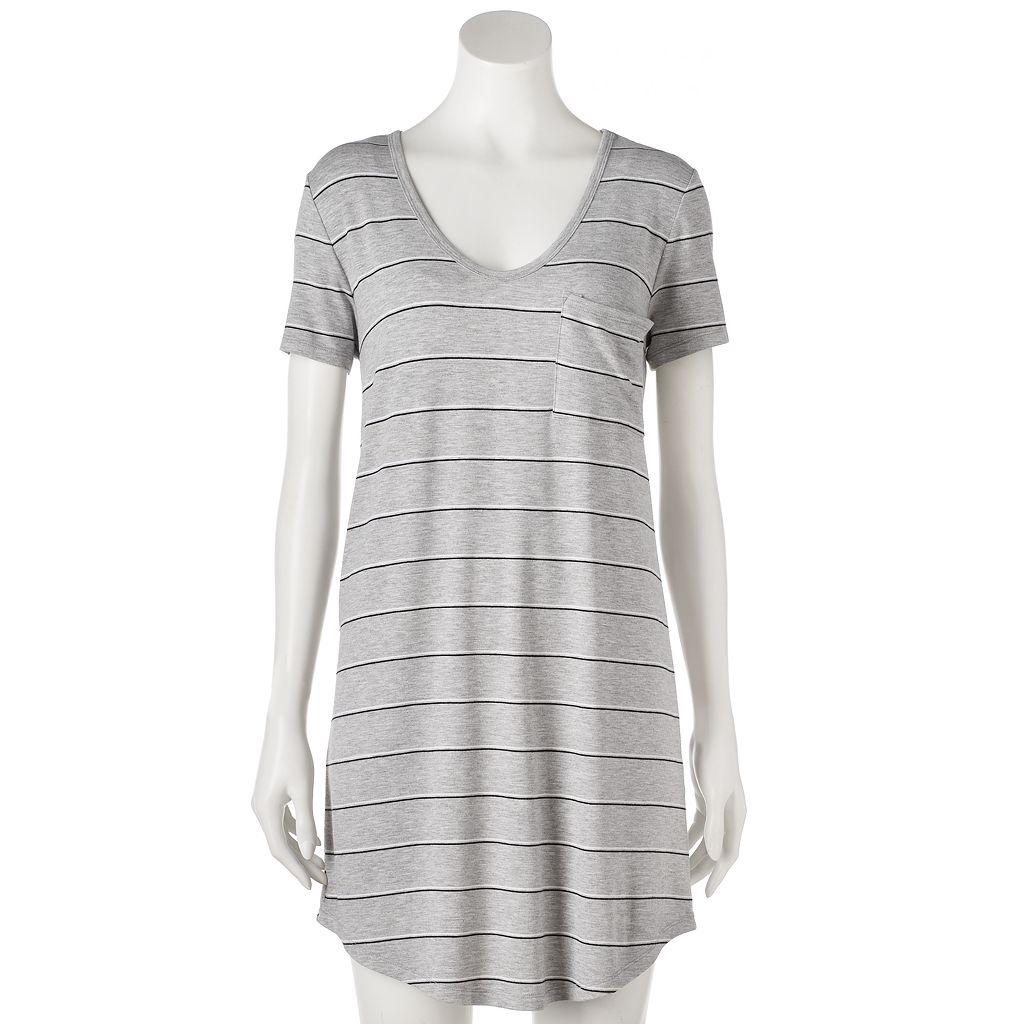 Juniors' SO® Short Sleeve T-Shirt Dress
