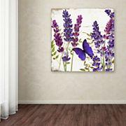 Trademark Fine Art Lavender I Canvas Wall Art