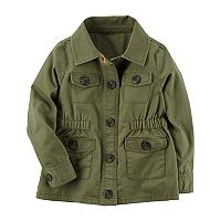 Girls 4-8 Carter's Olive Utility Jacket
