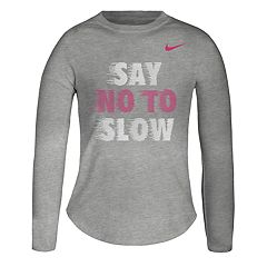 Girls 4-6x Nike 'Say No To Slow' Graphic Tee
