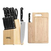 Ginsu  16 pc Essentials Combo Cutlery Set