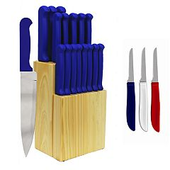 Ginsu Quikut Home Basics 23 pc Combo Cutlery Set