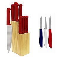 Ginsu Quikut Homebasics 13-pc. Combo Cutlery Set