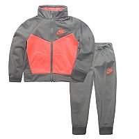 Girls 4-6x Nike Colorblocked Track Suit Set