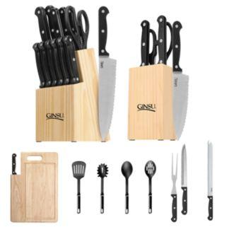 Ginsu  28-pc. Essentials Combo Cutlery Set