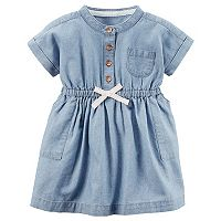 Baby Girl Carter's Chambray Dress