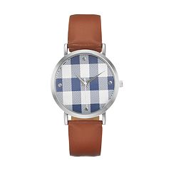 Women's Plaid Watch