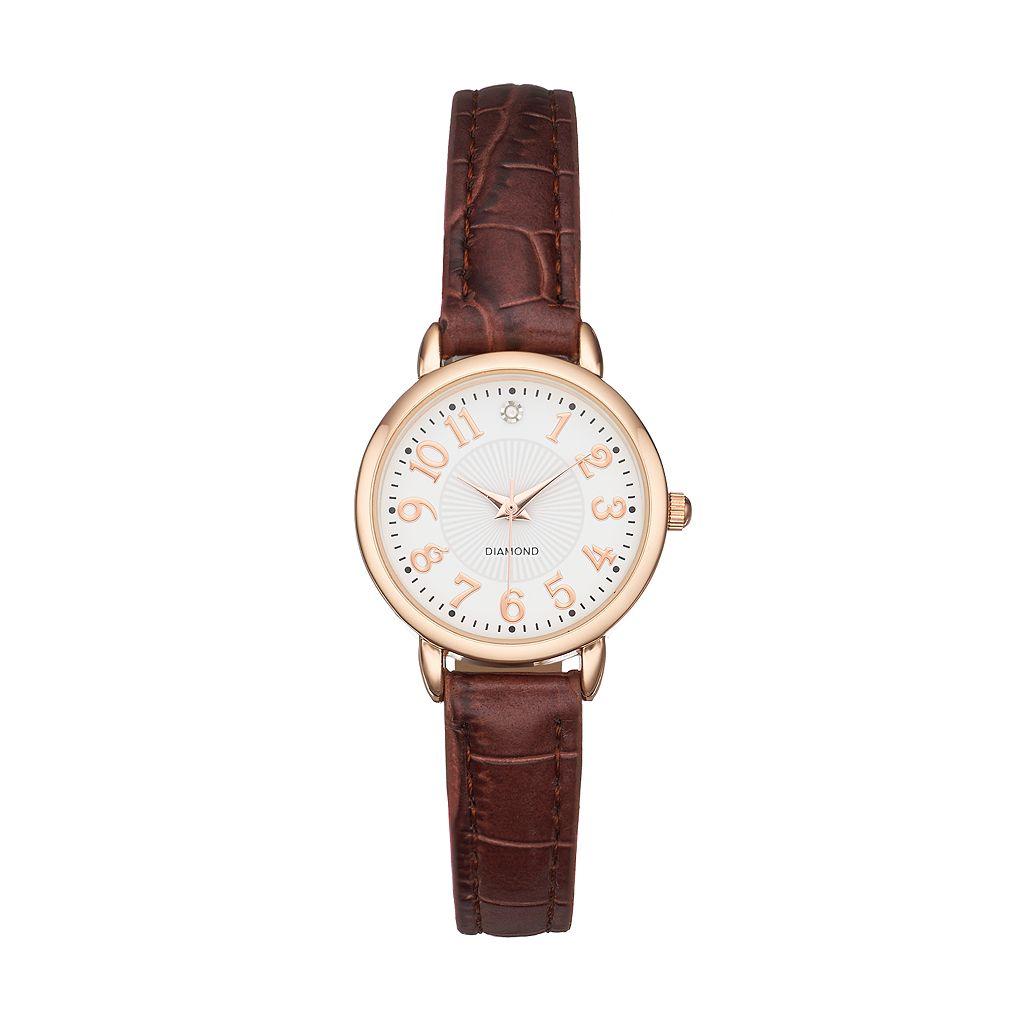 Women's Diamond Accent Watch