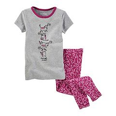Girls 4-14 OshKosh B'gosh® 'Midnight Snack?' Kitty Tee & Bottoms Pajama Set