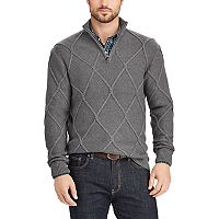 Men's Chaps Classic-Fit Quarter-Zip Sweater