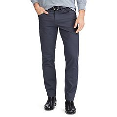 Men's Chaps Straight-Fit Stretch 5-Pocket Twill Pants