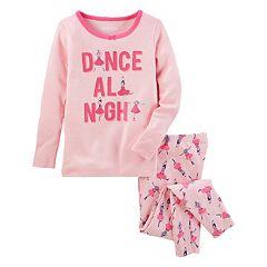 Girls 4-14 OshKosh B'gosh® 'Dance All Night' Ballerina Top & Bottoms Pajama Set