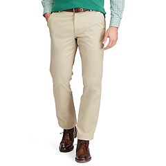 Men's Chaps Straight-Fit Stretch Flat-Front Pants