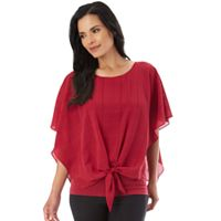 Women's Apt. 9® Tie Front Layered Top