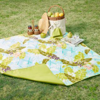Madison Park Hampton Waterproof Picnic Blanket