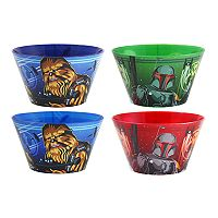 Star Wars: Episode VIII The Last Jedi 4-pc. Bowl Set by JB Disney Home