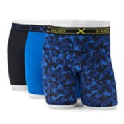 Men's Hanes 3-pack Ultimate X-Temp Performance Boxer Briefs