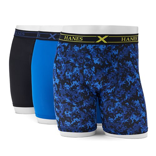 Men's Hanes 3-pack Ultimate X-Temp Performance Boxer Briefs