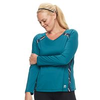 Plus Size FILA SPORT® Long Sleeve Basic Movement Tee