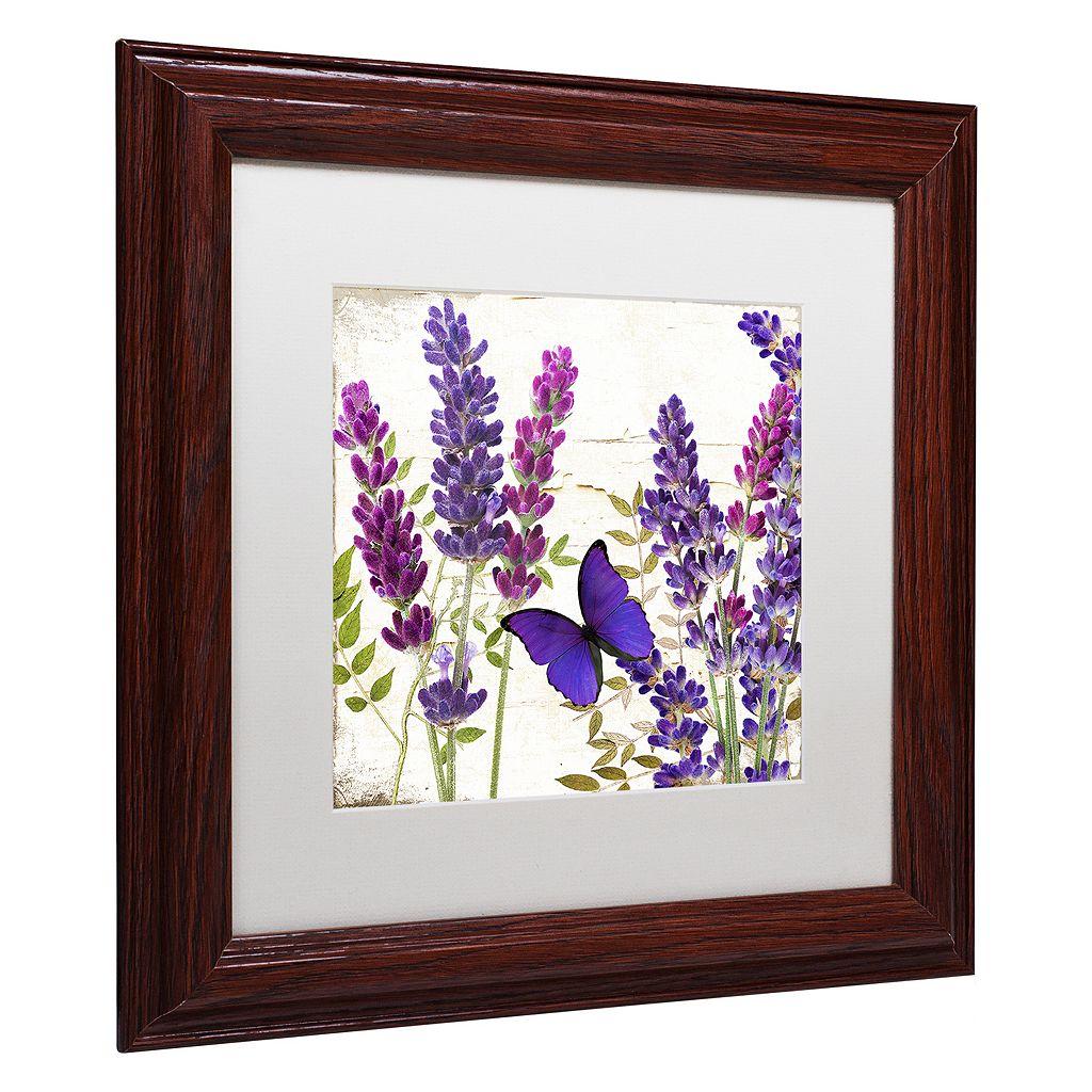 Trademark Fine Art Lavender I Framed Wall Art