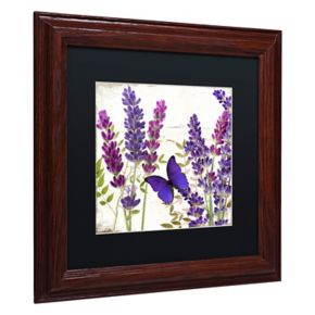 Trademark Fine Art Lavender I Framed Wall Art