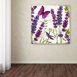Trademark Fine Art Lavender II Canvas Wall Art
