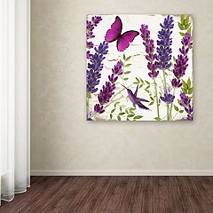 Trademark Fine Art Lavender II Canvas Wall Art