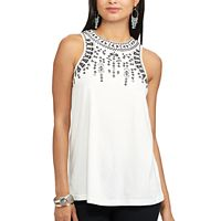 Women's Chaps Embroidered Tank