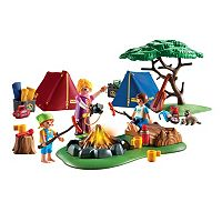 Playmobil Camp Site Playset - 9153