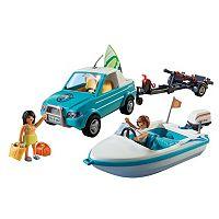 Playmobil Surfer Pickup & Speedboat Playset - 6864