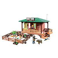Playmobil Ranger Station with Animal Area Playset - 6936