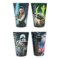 Star Wars: Episode VIII The Last Jedi 4-pc. Cup Set by JB Disney Home