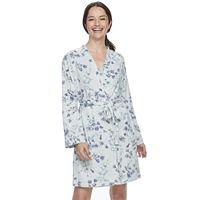 Women's Croft & Barrow® Whispery Clouds Kimono Robe
