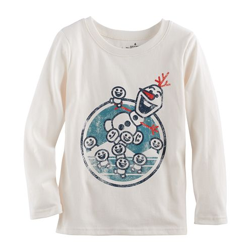Disney's Frozen Baby Boy Olaf Softest Tee by Jumping Beans®