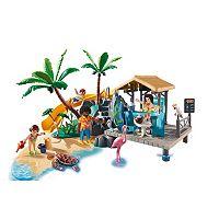 Playmobil Island Juice Bar Playset - 9162