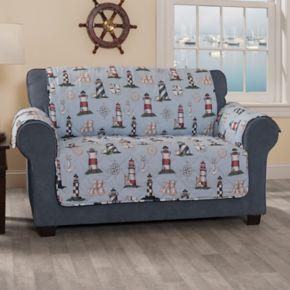 Innovative Textile Solutions Lighthouse Loveseat Slipcover