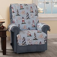 Innovative Textile Solutions Lighthouse Recliner or Wing Chair Slipcover