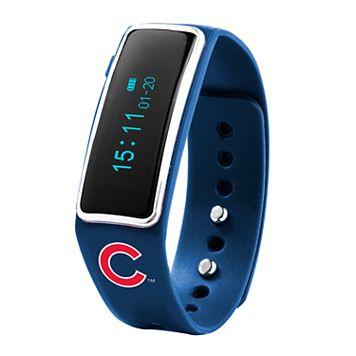 Nuband Chicago Cubs Fitness & Sleep Tracker Watch