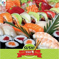 Ceaco 550 pc Sushi Jigsaw Puzzle