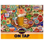 Ceaco 550-Piece On Tap Beer Jigsaw Puzzle