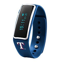 Nuband Texas Rangers Fitness & Sleep Tracker Watch