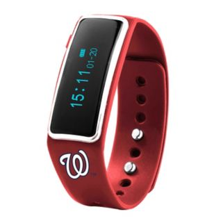 Nuband Washington Nationals Fitness & Sleep Tracker Watch