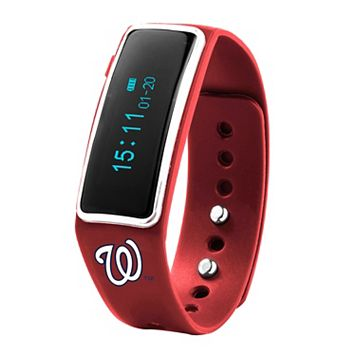 Nuband Washington Nationals Fitness & Sleep Tracker Watch