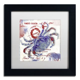 Trademark Fine Art Oceania I Black Framed Wall Art