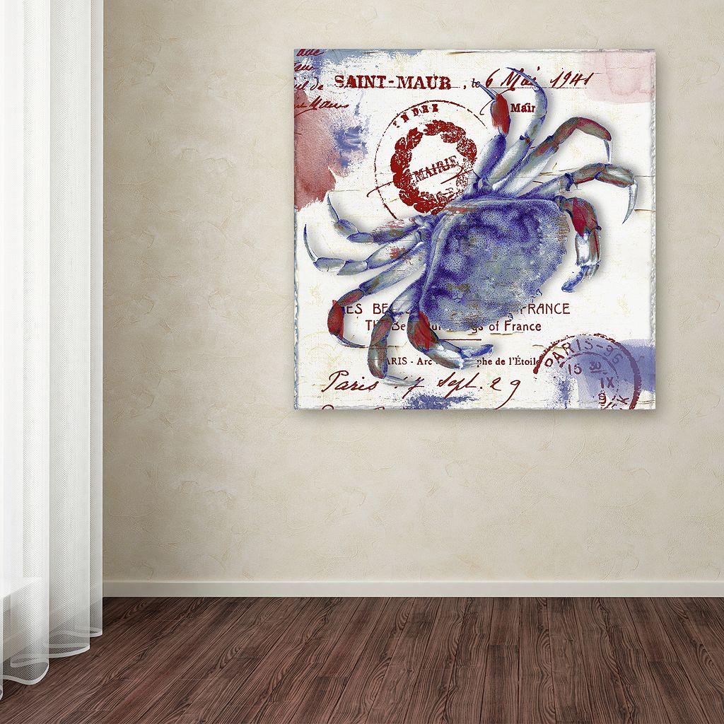 Trademark Fine Art Oceania I Canvas Wall Art