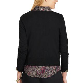 Women's Chaps Button-Front Cardigan